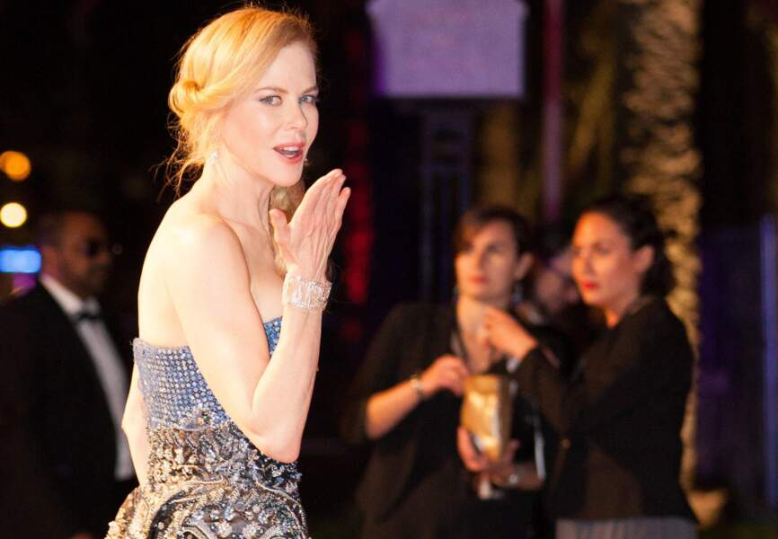 Nicole Kidman lors de l'after party du film Grace de Monaco