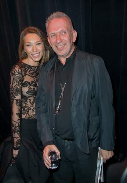 Laura Smet et Jean-Paul Gaultier