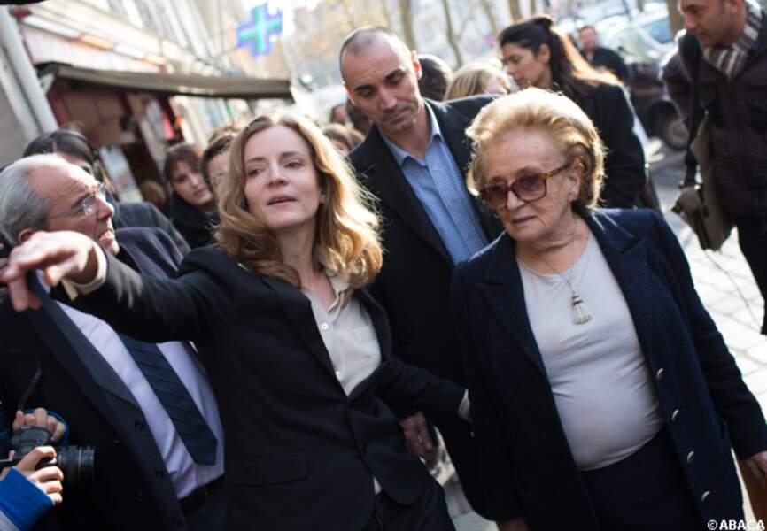 NKM et Bernadette Chirac à l'hôpital Trousseau