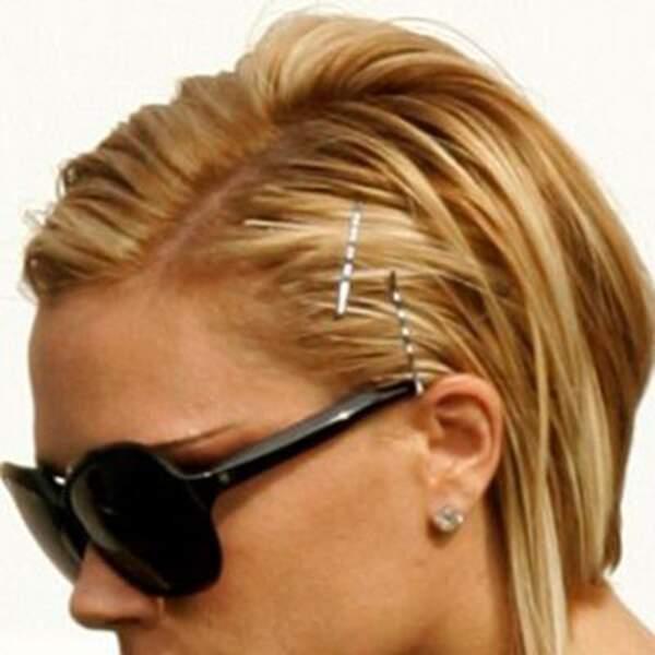 Victoria Beckham craque pour des cheveux blonds en 2007