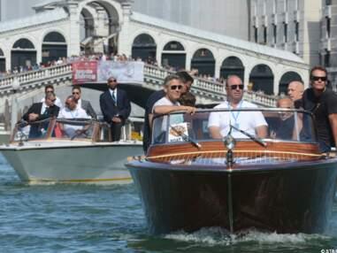 George Clooney arrive à Venise