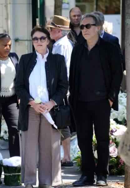 Anouk Aimée et Richard Berry