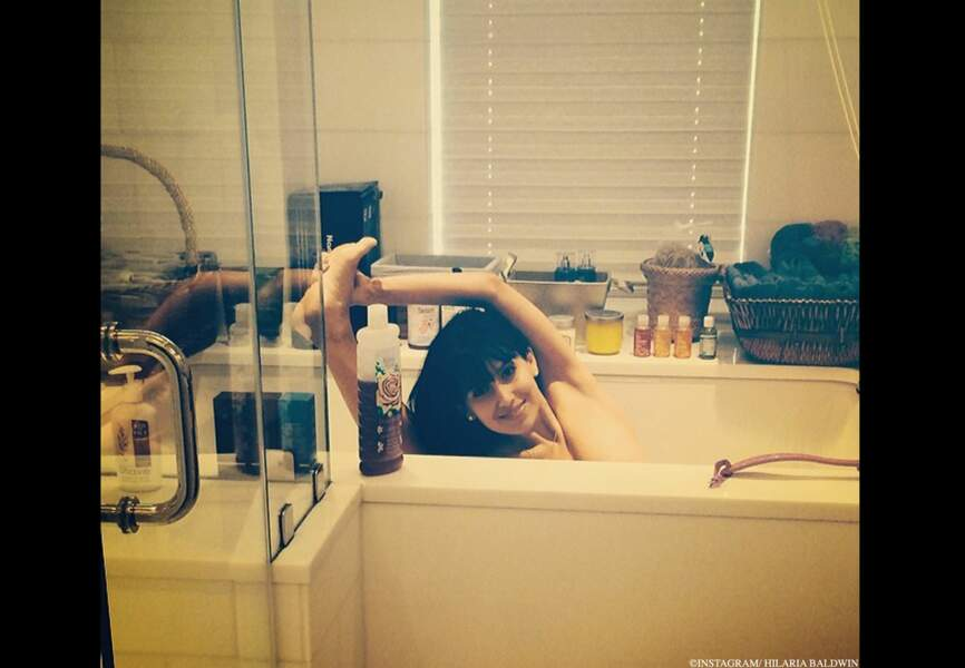 Instant stretching dans son bain