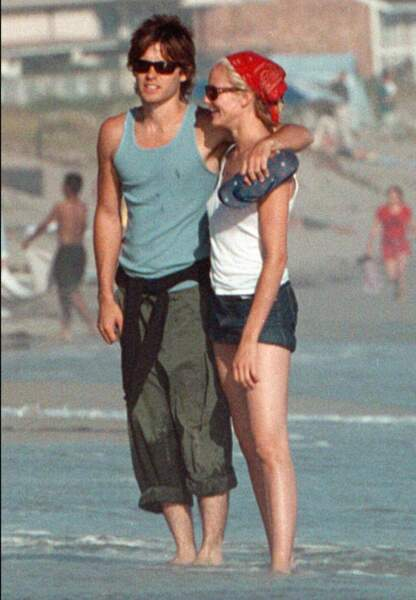 Jared Leto et Cameron Diaz en 2001