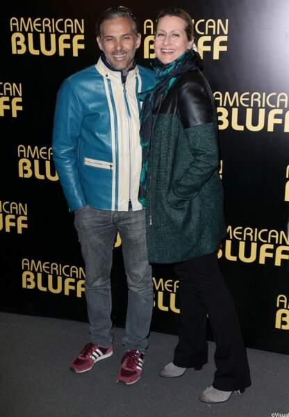 Paul et Luana Belmondo à l'Avant-Première d'American Bluff.