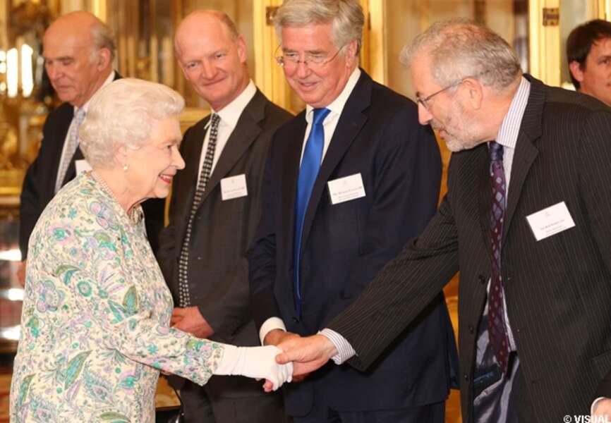Elizabeth II et les entrepreneurs