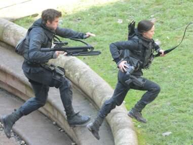 Tournage à Noisy-le-Grand de Hunger Games: La Révolte 2e Partie