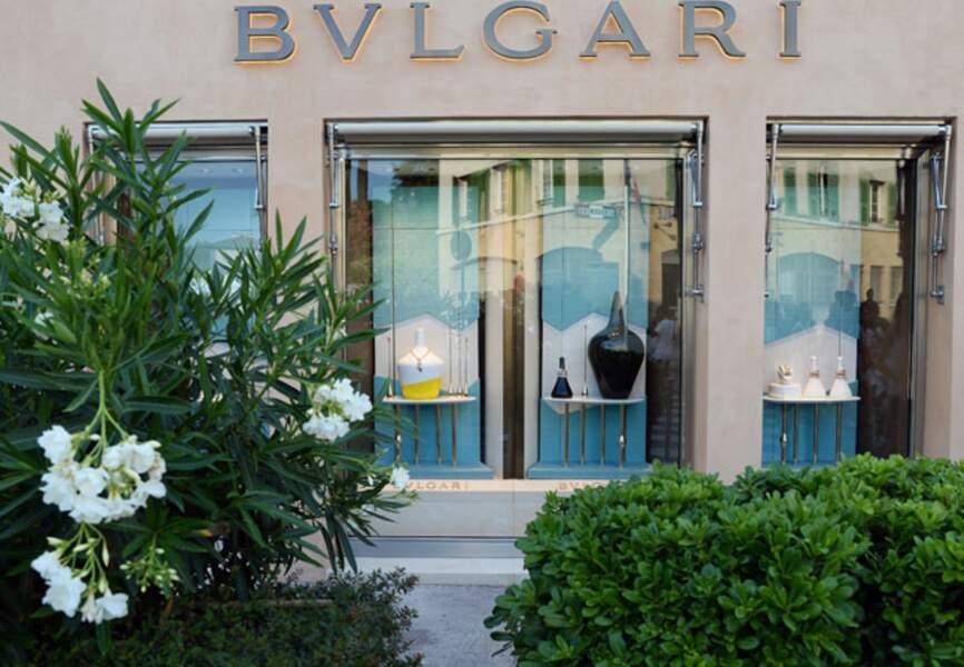 La nouvelle boutique bulgari à Saint-Tropez