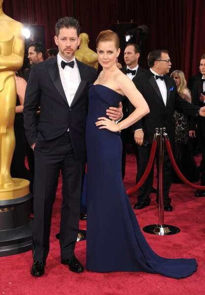 Amy Adams, l'une des actrices les plus en vogue du moment, avec son compagnon Darren Le Gallo