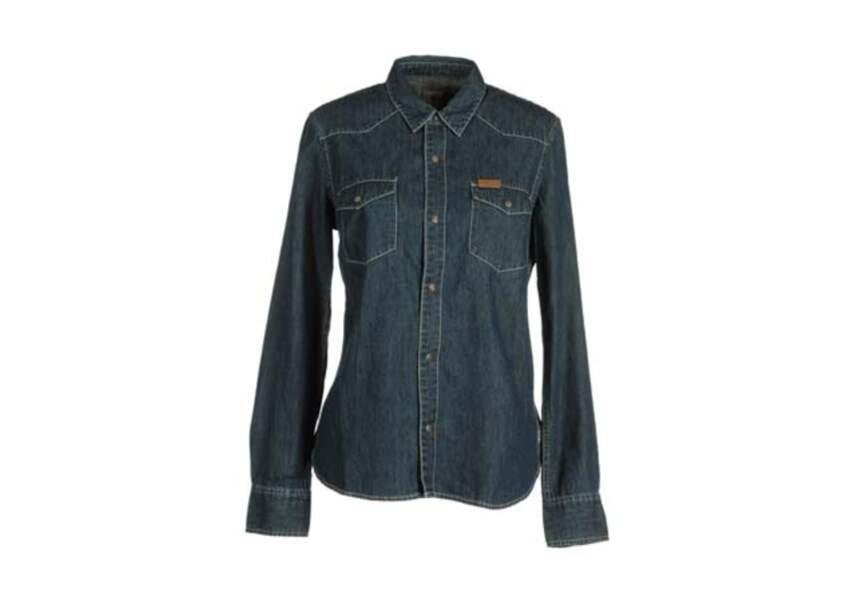Carhartt Femme - Chemise en jean - 62€