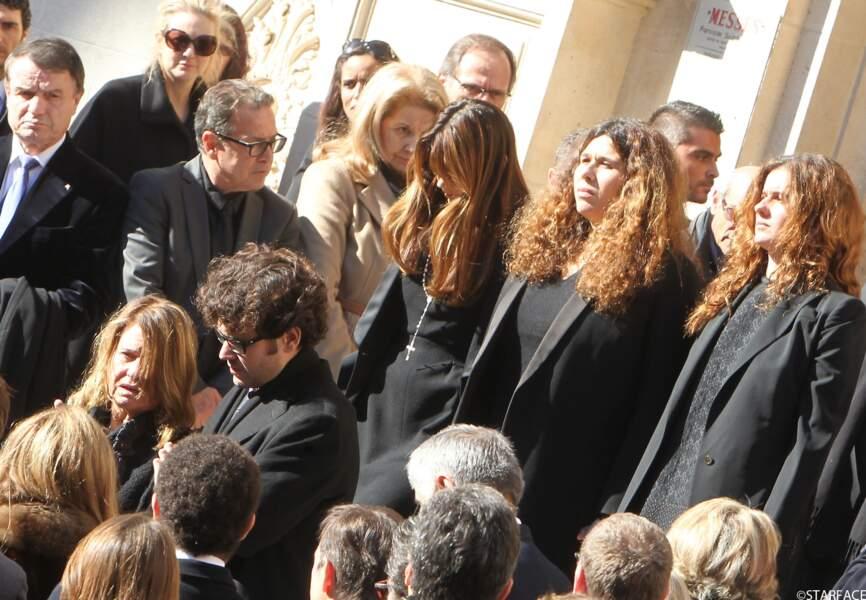 La femme de Michel Pastor, Catherine, et leurs quatre enfants : Alexandra, Delphine, Emilie-Sophie et Jean-Baptiste