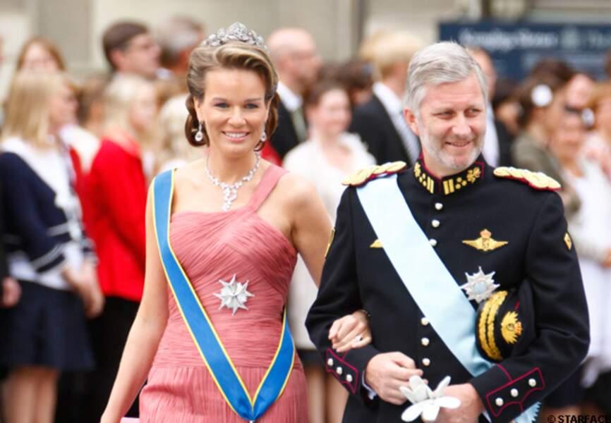 Mathilde et Philippe assistent à un mariage