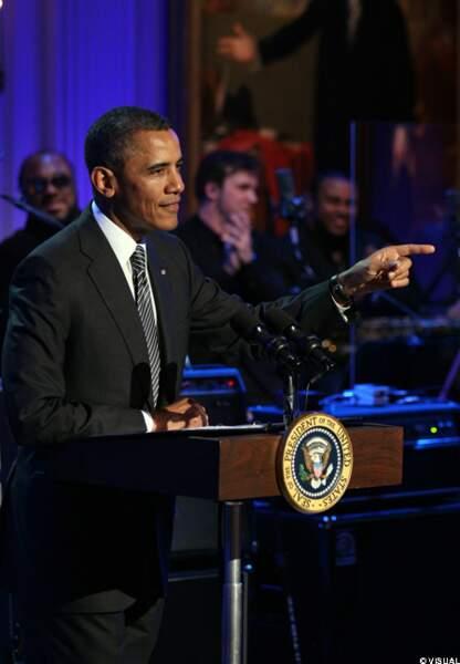 Barack Obama et son orchestre