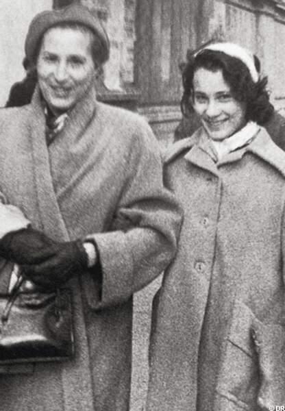 Bernadette Lafont et sa mère