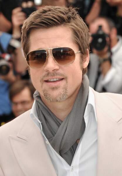 Brad Pitt au festival de Cannes pour Inglorious Basterds en 2009