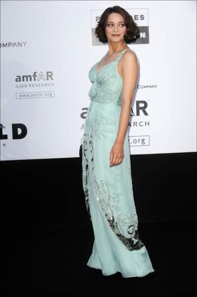 Au gala de l'AmfAR en 2009