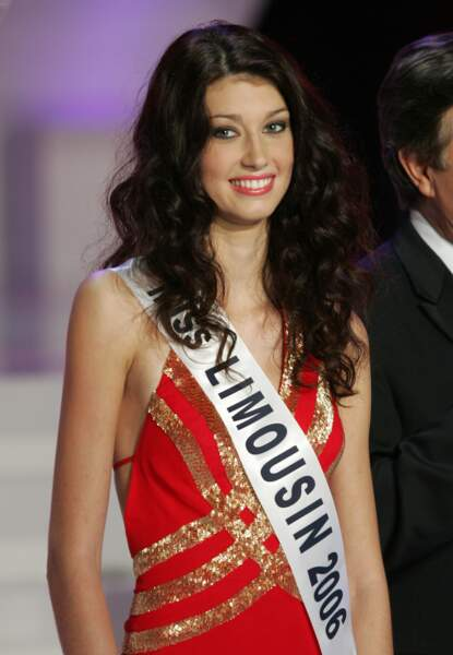 Sophie Vouzelaud, première dauphine à l'élection de Miss France 2007