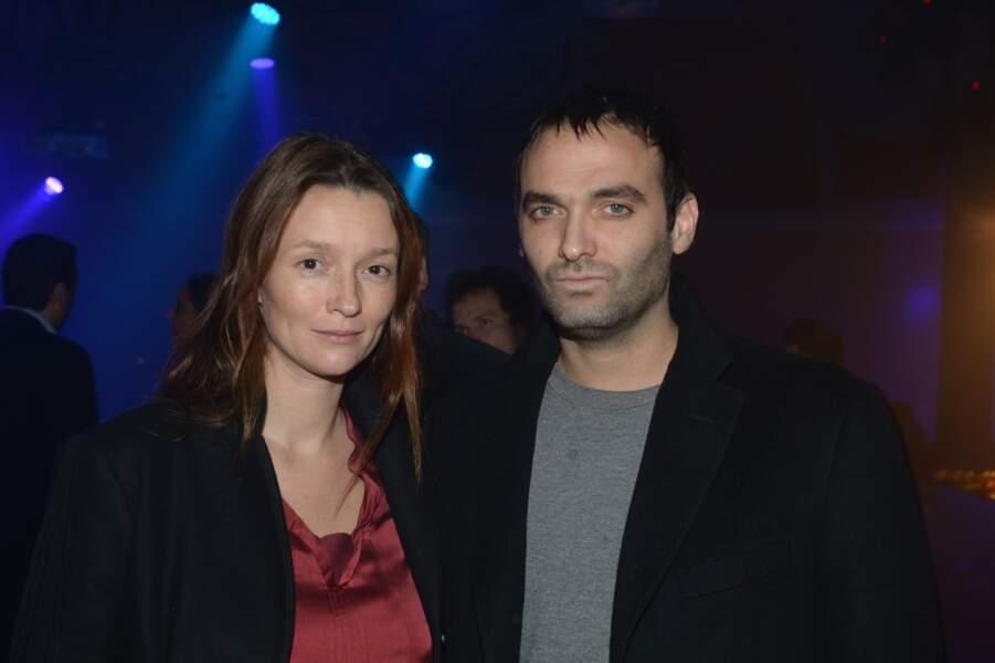 Audrey Marnay et son compagnon *