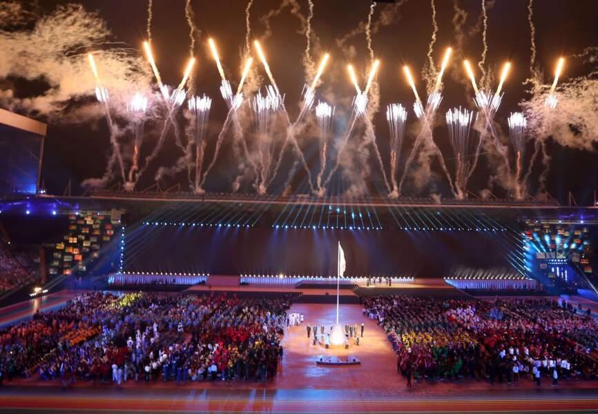 Cérémonie d'ouverture des Commonwealth Games
