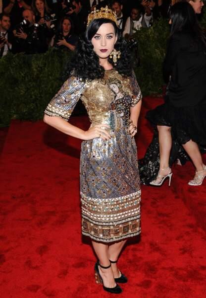 Katy Perry en Dolce & Gabbana