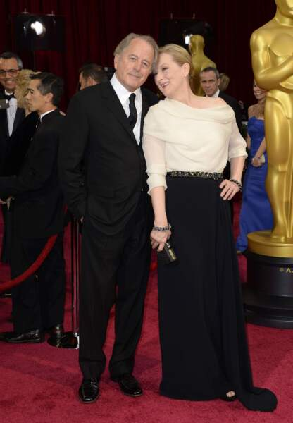 Meryl Streep et son mari, le célèbre sculpteur Don Gummer