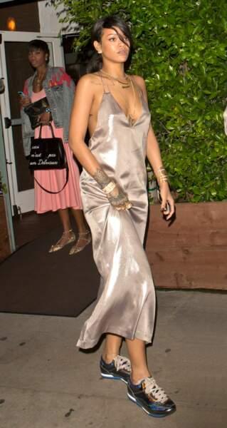Rihanna en Nasty Gal