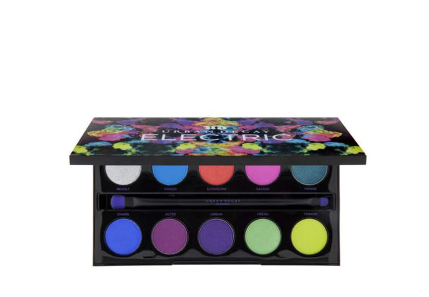 Palette Electric, Urban Decay, 45€