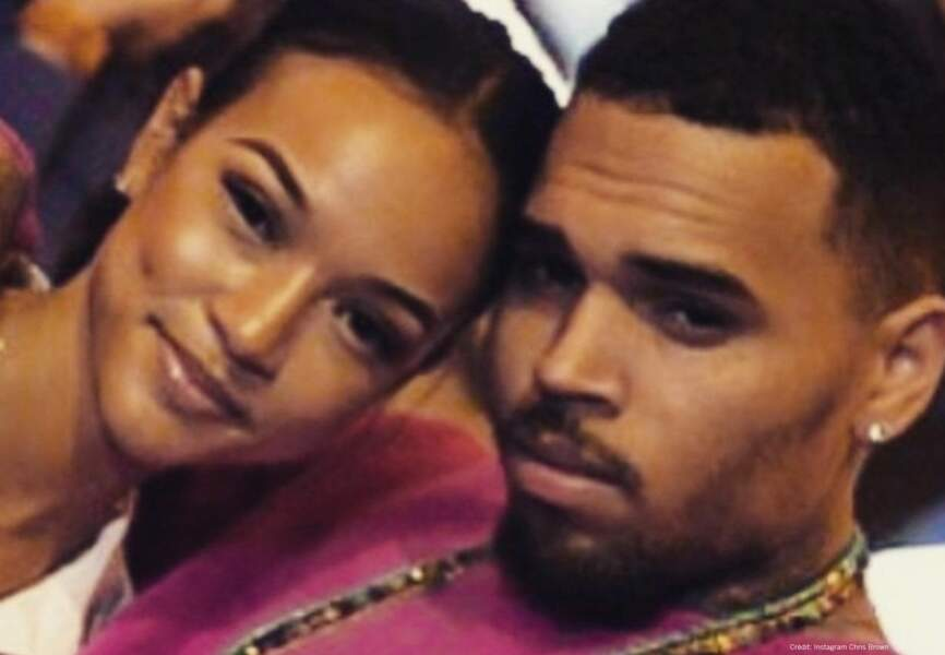 Chris Brown et sa girlfriend