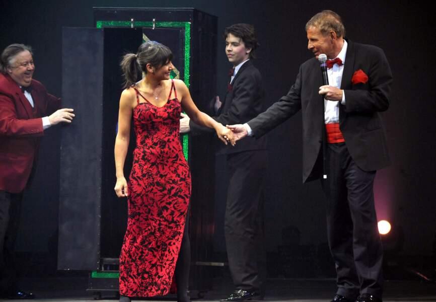 Estelle Denis et PPDA en 2009