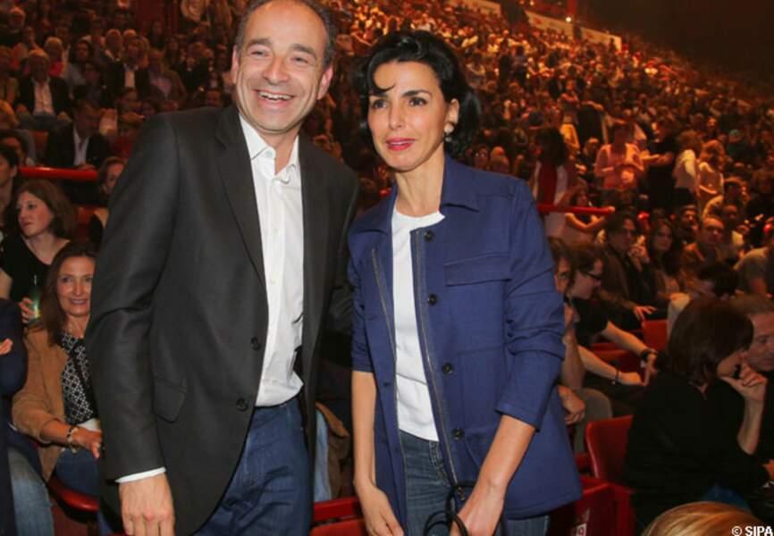 Jean-François Copé et Rachida Dati