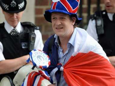 La liesse à Londres suite à l'annonce de la naissance du bébé royal