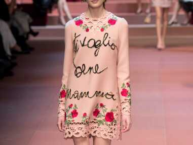 Fashion Week : La fête des mères avant l'heure de Dolce&Gabbana