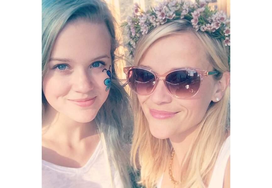 Ava, la fille de Reese Witherspoon a hérité de tous ses bons gènes