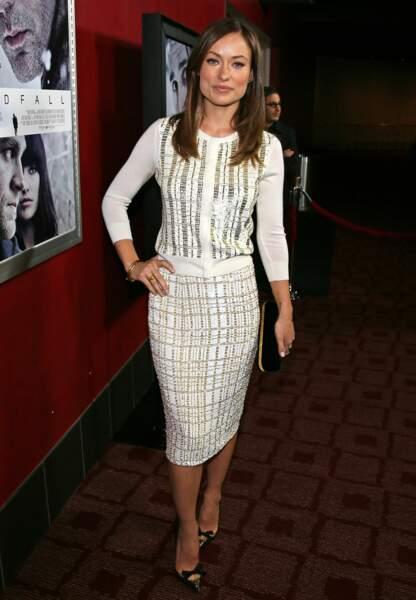 Olivia Wilde trendy attitude en novembre 2012