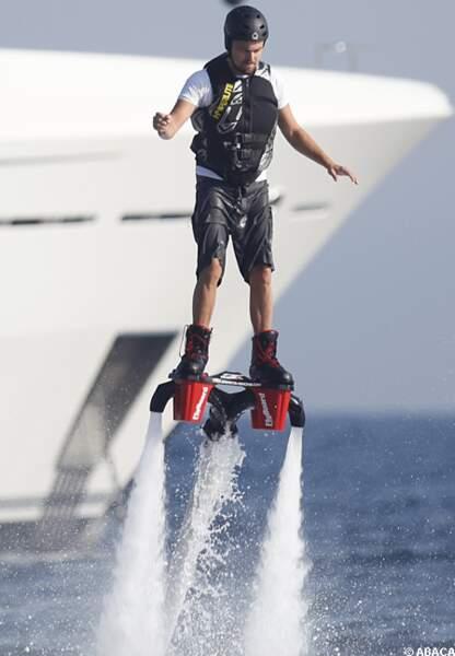 Leonardo DiCaprio est un pionnier du Jetlev Flyer