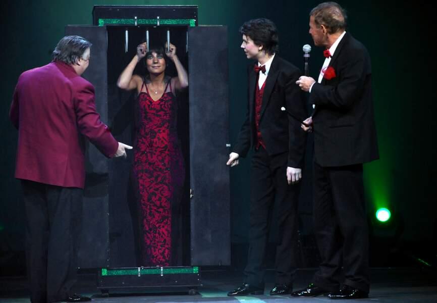 Estelle Denis au gala de la presse en 2009