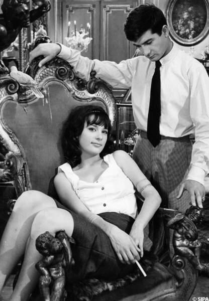 Les Godelureaux en 1961 avec Jean-Claude Brialy
