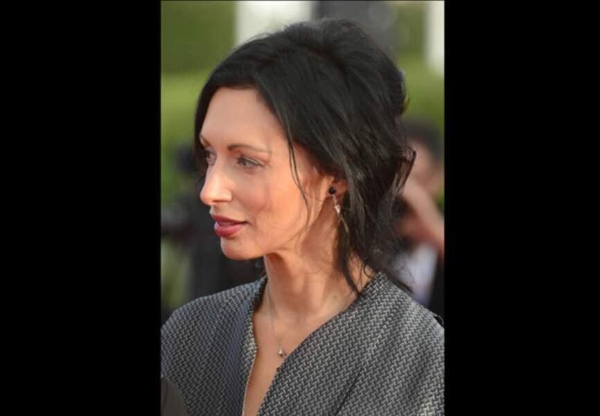Géraldine Maillet coiffée-décoiffée