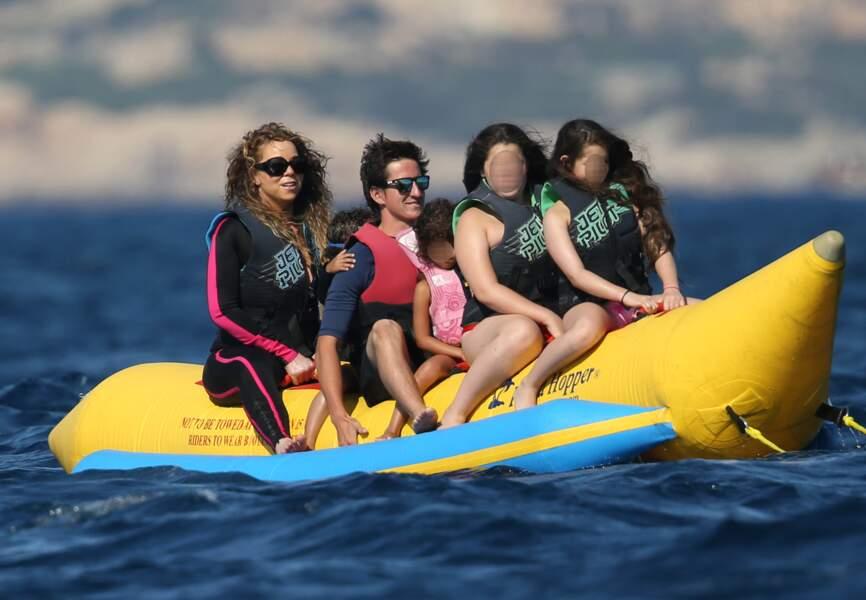 Mariah Carey s'éclate en Italie