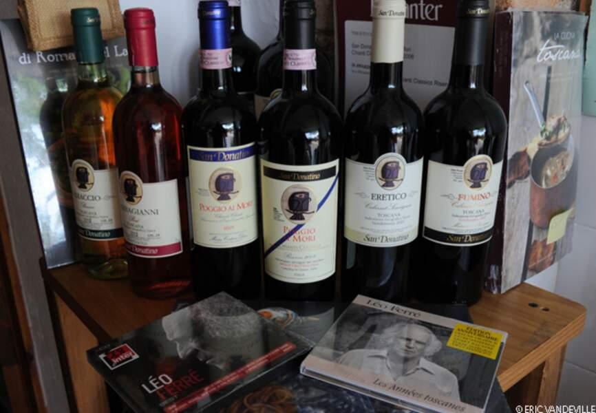 Les Ferré produisent chaque année 100 000 bouteilles de Chianti Classico