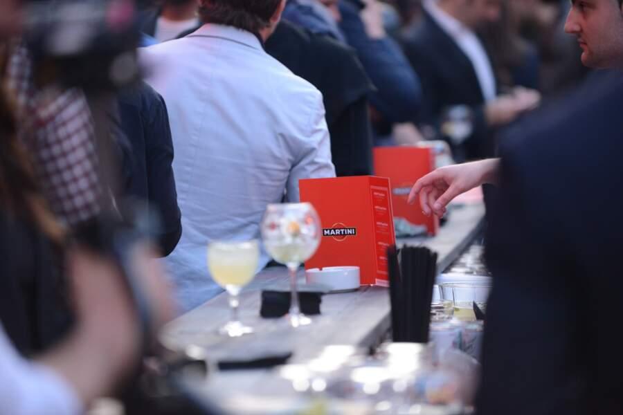 Les cocktails Martini ont eu beaucoup de succès