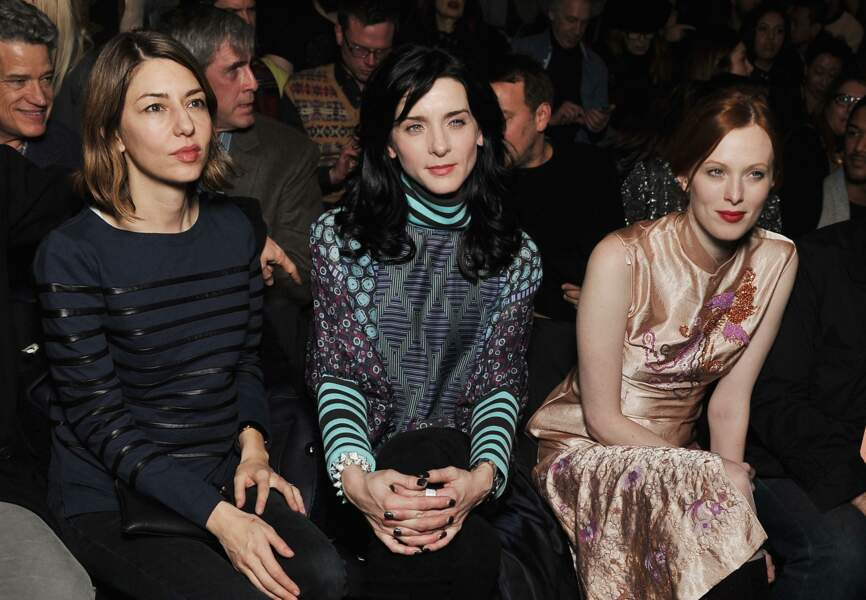 Sofia Coppola, Michele Hicks et Karen Elson chez Anna Sui
