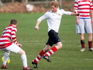 Match de foot royal entre William et Harry
