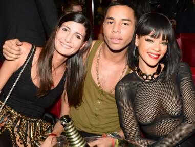 L'After-CHAUD de chez Balmain avec Rihanna et Jessica Alba