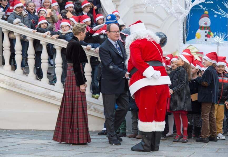 Aux côtés du Père Noël