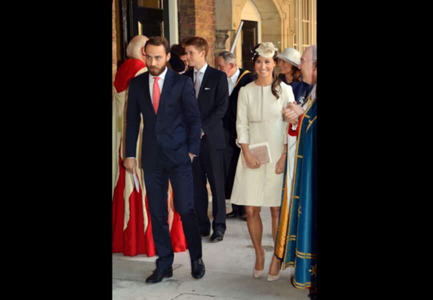 La tante du prince George tout sourire
