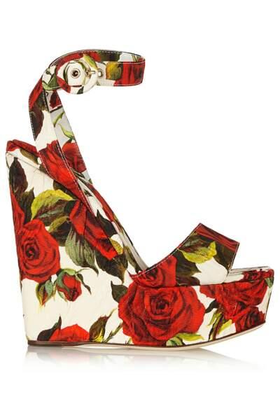 Chaussures compensées Dolce&Gabbana - 645€