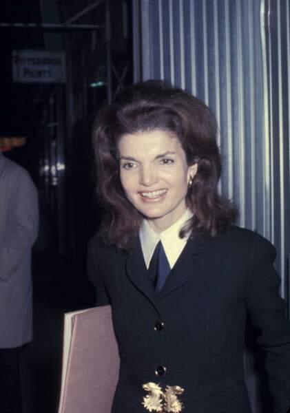 1969 à New York où elle a vécu après la mort de Kennedy