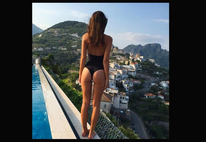 Emily Ratajkowski en Italie
