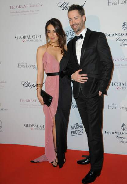 Sofia Essaïdi et Emmanuel Moire